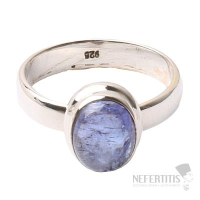 Tanzanit prsten stříbro Ag 925 R332