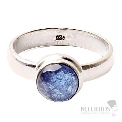 Tanzanit prsten stříbro Ag 925 R333