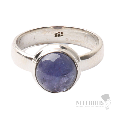 Tanzanit prsten stříbro Ag 925 R337
