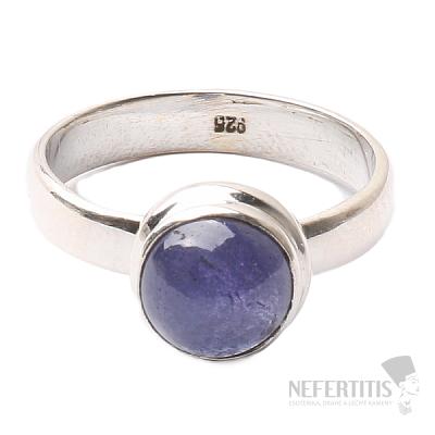 Tanzanit prsten stříbro Ag 925 R343