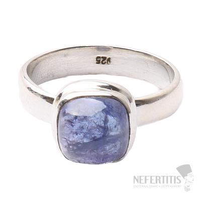 Tanzanit prsten stříbro Ag 925 R344