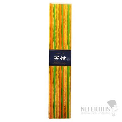 Vonné tyčinky Nippon Kodo Kayuragi japanese orange