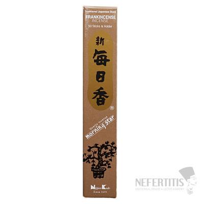 Vonné tyčinky Nippon Kodo Morning star frankincense
