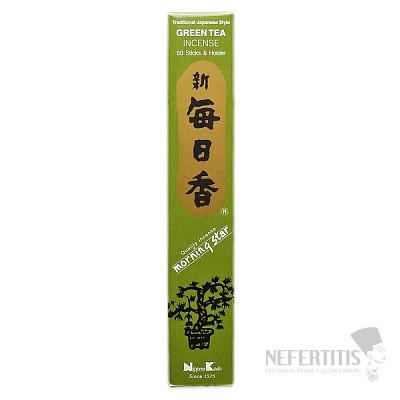 Vonné tyčinky Nippon Kodo Morning star green tea