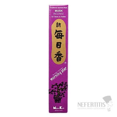 Vonné tyčinky Nippon Kodo Morning star musk