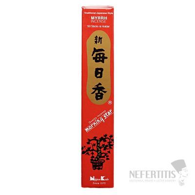 Vonné tyčinky Nippon Kodo Morning star myrrh