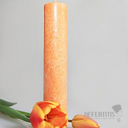 Svíčka pro 2. čakru kulatá
