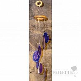 Achátová zvonkohra fialová