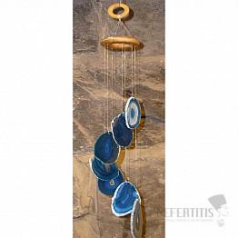 Achátová zvonkohra modrá