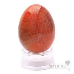 Achát ohnivý vajíčko