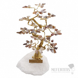 Stromeček štěstí achát B2