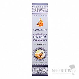 Vonné tyčinky Ajurvéda Relaxation - relaxace