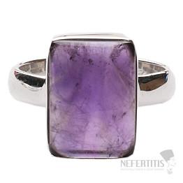Ametyst prsten stříbro Ag 925 R1457