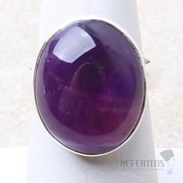 Ametyst prsten stříbro Ag 925 R1601