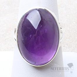 Ametyst prsten stříbro Ag 925 R1617
