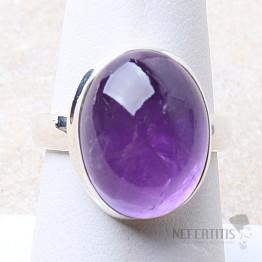Ametyst prsten stříbro Ag 925 R1638