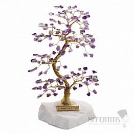 Stromeček štěstí ametyst A2