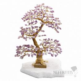 Stromeček štěstí ametyst A4