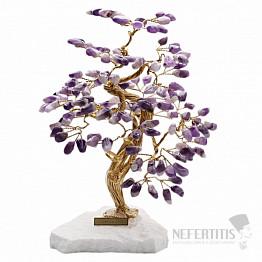 Stromeček štěstí ametyst B3