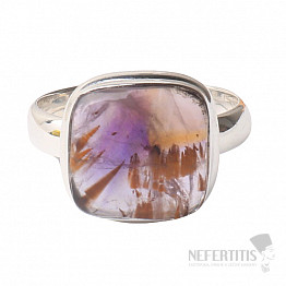 Kakoxen (Super 7) prsten stříbro Ag 925 R1346