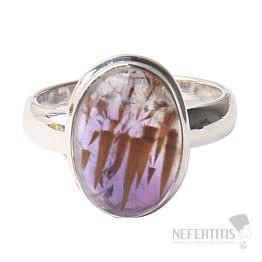 Kakoxen (Super 7) prsten stříbro Ag 925 R1371