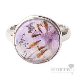 Kakoxen (Super 7) prsten stříbro Ag 925 R1378
