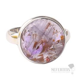 Kakoxen (Super 7) prsten stříbro Ag 925 R1387