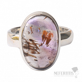 Kakoxen (Super 7) prsten stříbro Ag 925 R1411