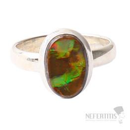 Amolit prsten stříbro Ag 925 R594