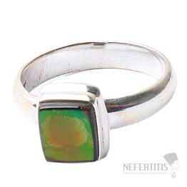 Amolit prsten stříbro Ag 925 R613