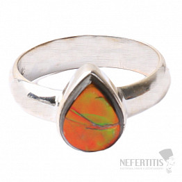 Amolit prsten stříbro Ag 925 R614