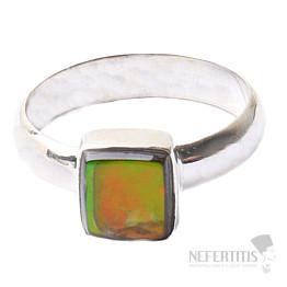 Amolit prsten stříbro Ag 925 R632