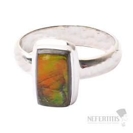 Amolit prsten stříbro Ag 925 R634