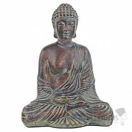Buddha sedící starožitný vzhled