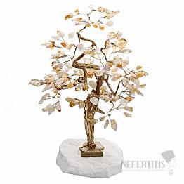 Stromeček štěstí citrín B3