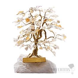 Stromeček štěstí citrín A1