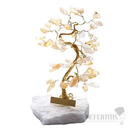 Stromeček štěstí citrín B0