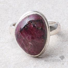 Eudialyt prsten stříbro Ag 925 R114