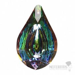 Kapka Feng Shui extra křišťál duhově metalizovaný multicolor