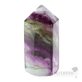Fluorit multicolor krystal špice