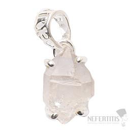 Herkimer diamant přívěsek stříbro Ag 925 P1024