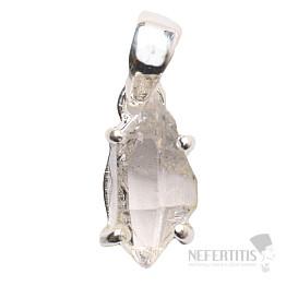 Herkimer diamant přívěsek stříbro Ag 925 P1035