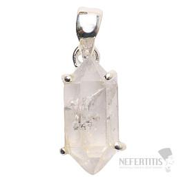 Herkimer diamant přívěsek stříbro Ag 925 P1036