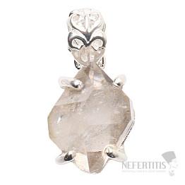 Herkimer diamant přívěsek stříbro Ag 925 P1044