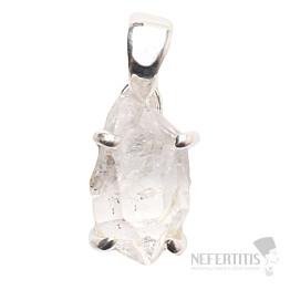 Herkimer diamant přívěsek stříbro Ag 925 P1047