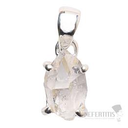 Herkimer diamant přívěsek stříbro Ag 925 P1050