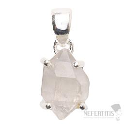 Herkimer diamant přívěsek stříbro Ag 925 P1073