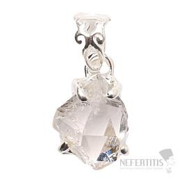 Herkimer diamant přívěsek stříbro Ag 925 P1076