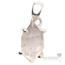 Herkimer diamant přívěsek stříbro Ag 925 P1079