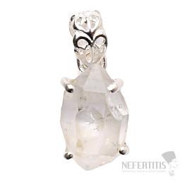 Herkimer diamant přívěsek stříbro Ag 925 P987